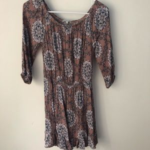 NWOT CHARLOTTE RUSSE Mauve Dress